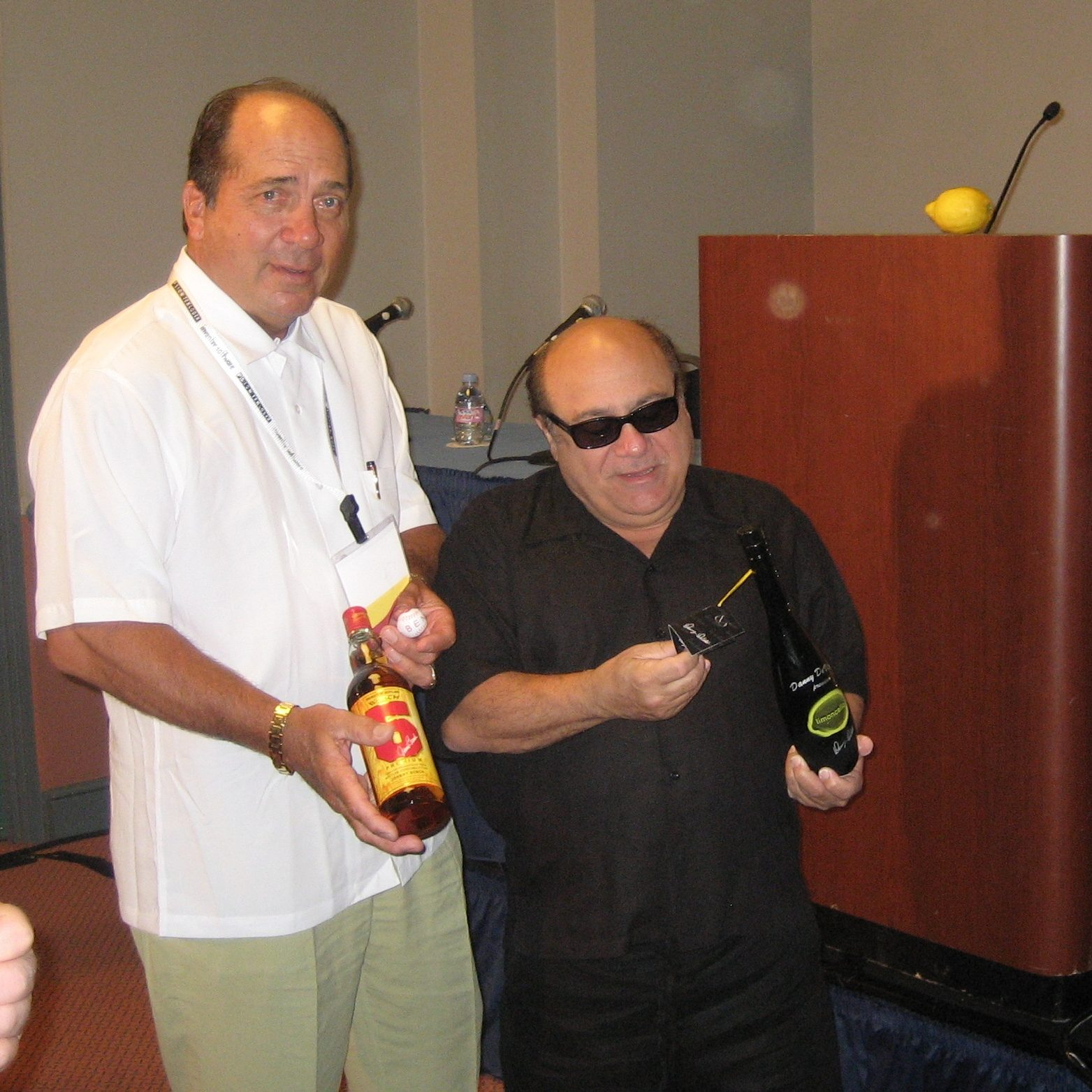 Johnny Bench - Danny DeVito - Copy